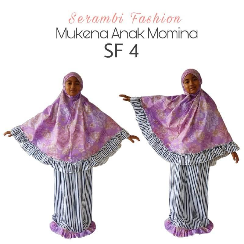 mukena momina anak